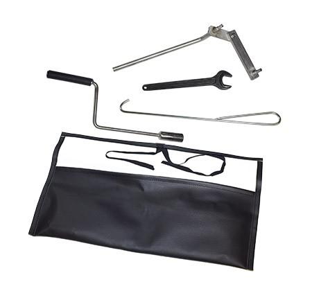 Werkzeugtasche komplett mit Kurbel für A10 A08 A06 S08